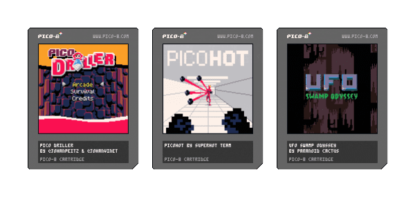 awesome PICO-8 carts